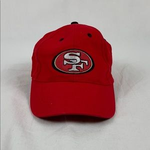 ✨3/$25✨NFL San Francisco 49ers Red Fitted Hat